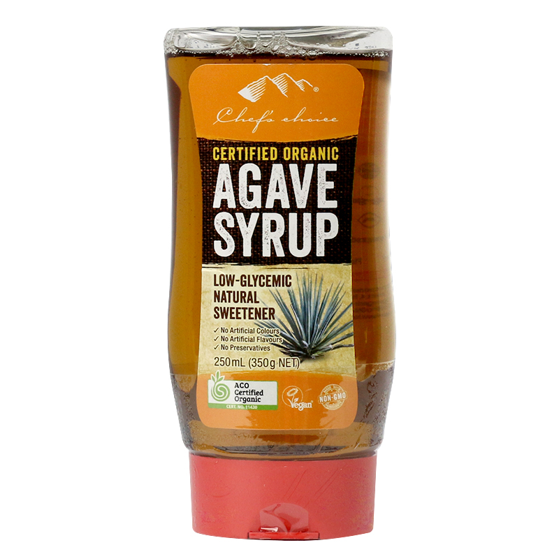 Chef's Choice Certified Organic Agave Syrup 250mL