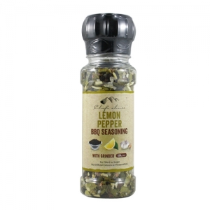 BBQ Lemon Pepper BBQ Seasoning with Grinder 120g