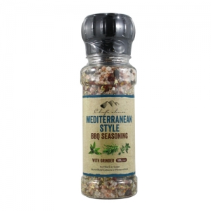 Mediterranean Style BBQ Seasoning with Grinder 160g