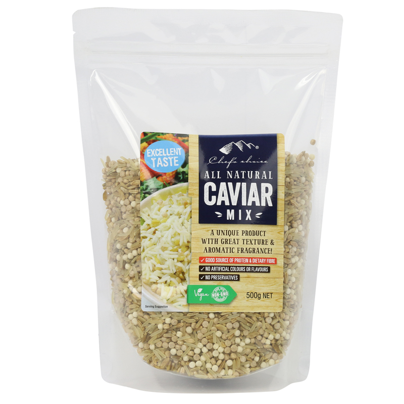 Chef's Choice All Natural Caviar Mix 500g