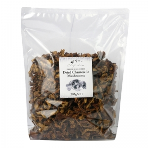 Dry Chanterelles Mushrooms 500g