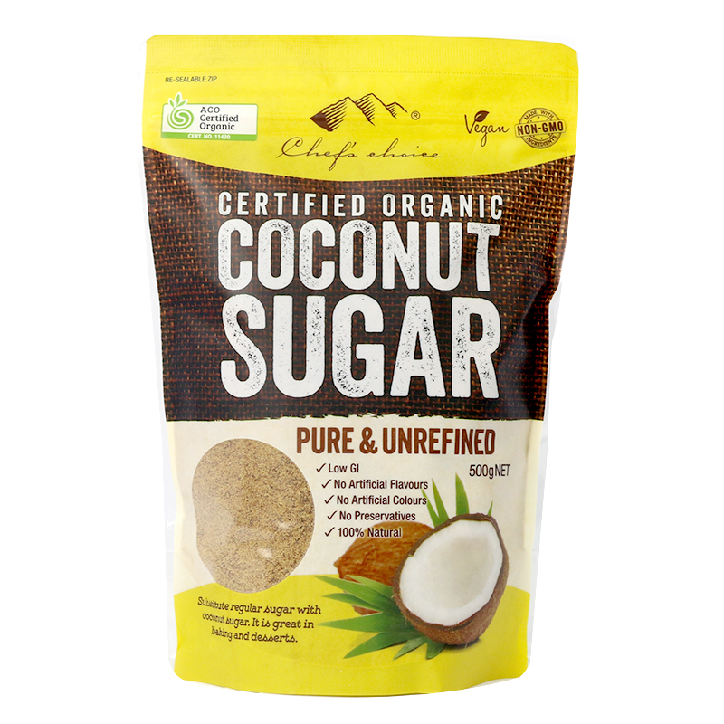 Certified Organic Coconut Sugar 500g