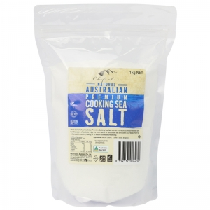 Chef's Choice Natural Australian Premium Cooking Sea Salt 1kg
