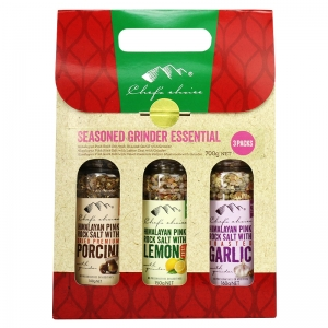 Seasoned Grinder Essential Christmas Gift Pack 700g NET