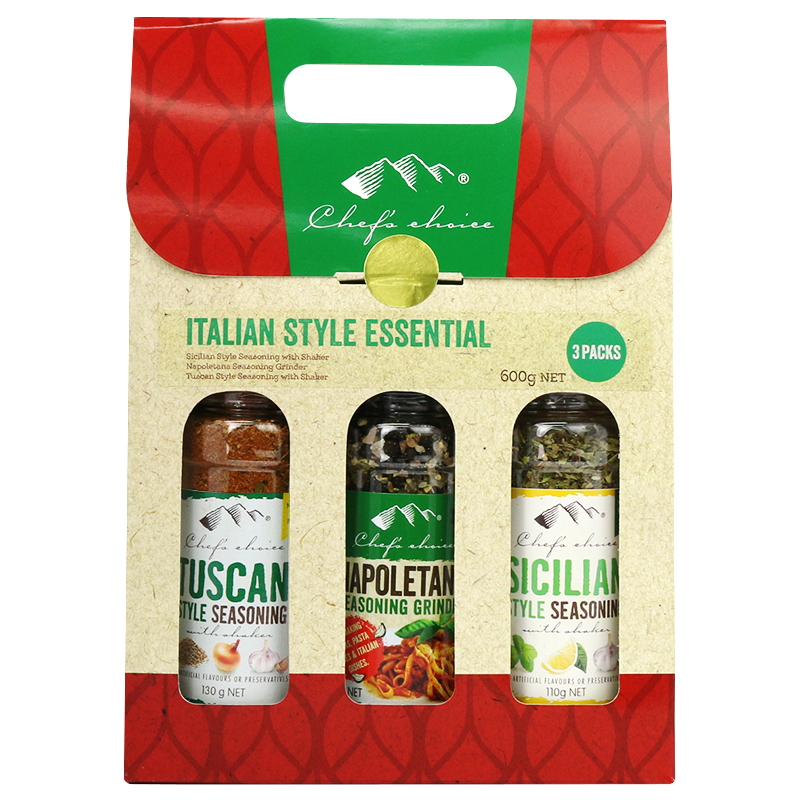 Italian Style Essential Christmas Gift Pack 600g NET