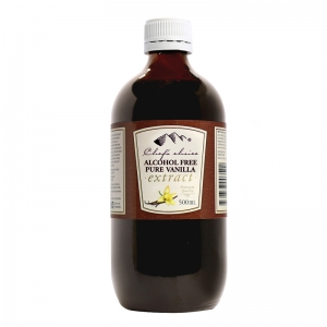 Chef's Choice Alcohol Free Pure Vanilla Extract 500mL