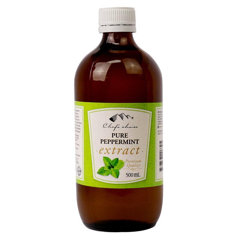 Pure Peppermint Extract 500mL