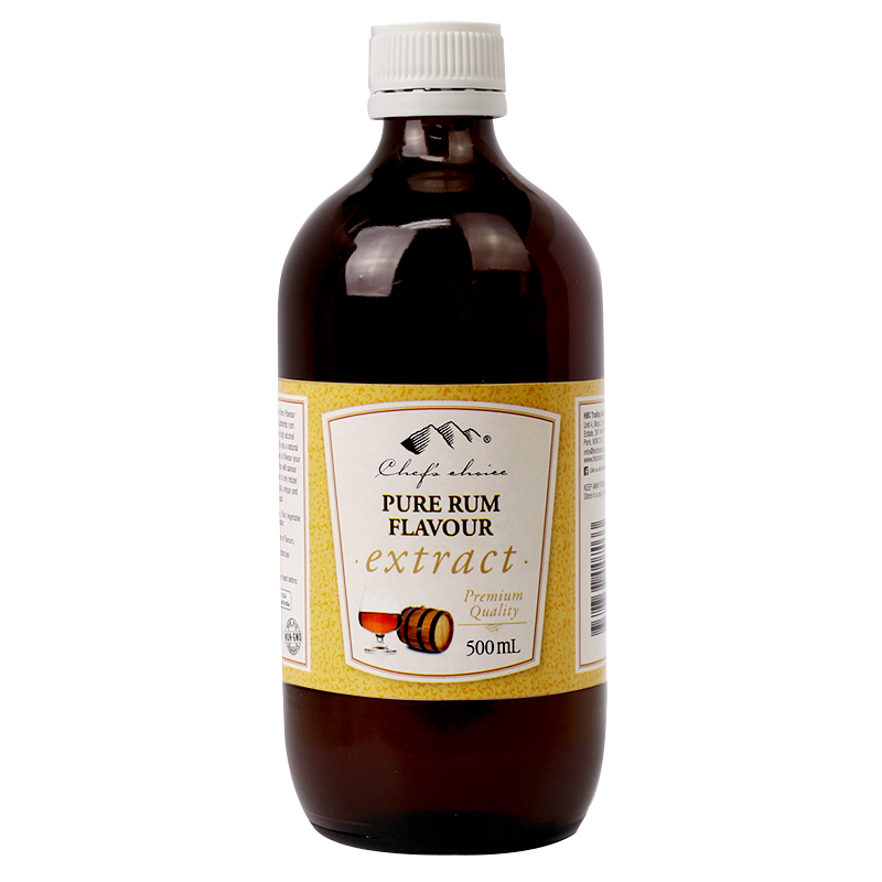 Pure Rum Flavour Extract 500mL