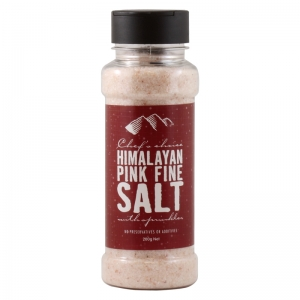 Pink Fine Salt with Sprinkler - Himalayan Salt - 200g