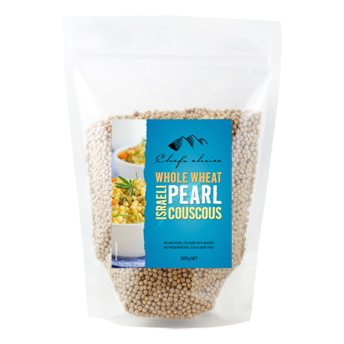 Israeli Whole Wheat Pearl Couscous 500g Premium Gourmet Food