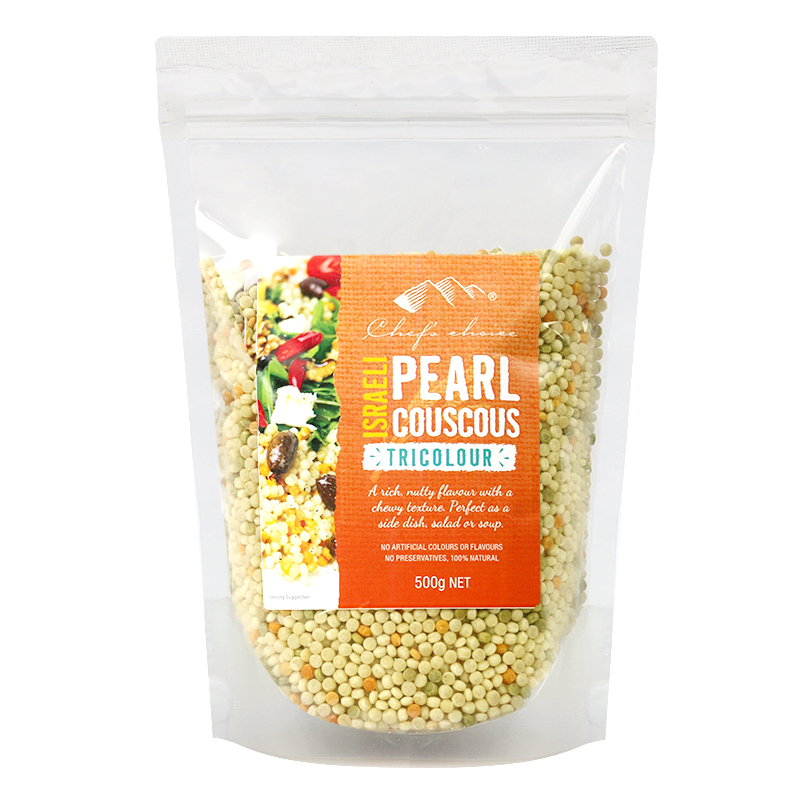 Chef's Choice Tricolour Israeli Pearl Couscous 500g