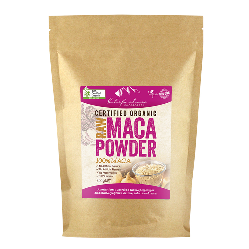 Chef's Choice Raw Organic Maca Powder 300g