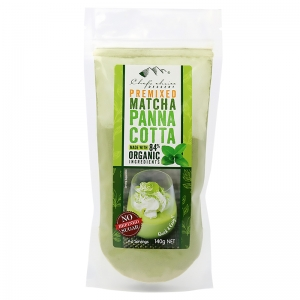 Chef's Choice Dessert Premixed Matcha Panna Cotta 140g