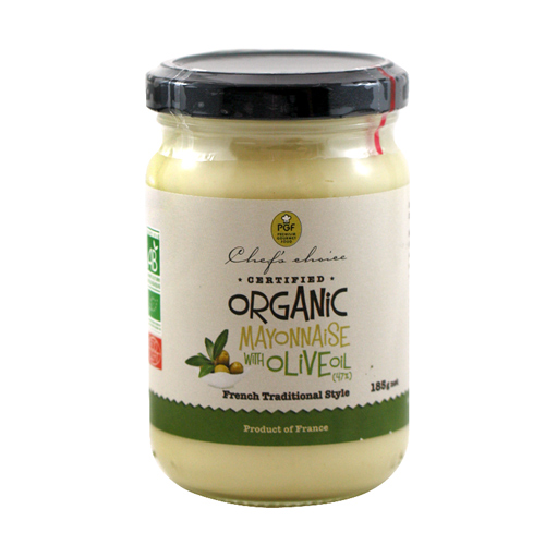 Organic Mayonnaise with Olive Oil French Traditional Style 185g