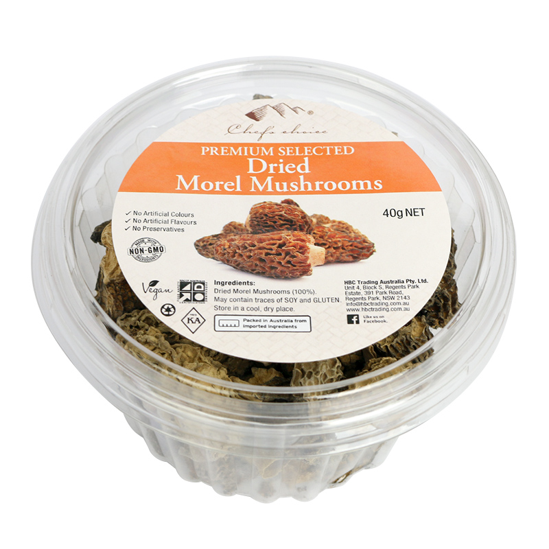 Premium Selected Dried Morel Mushrooms 40g