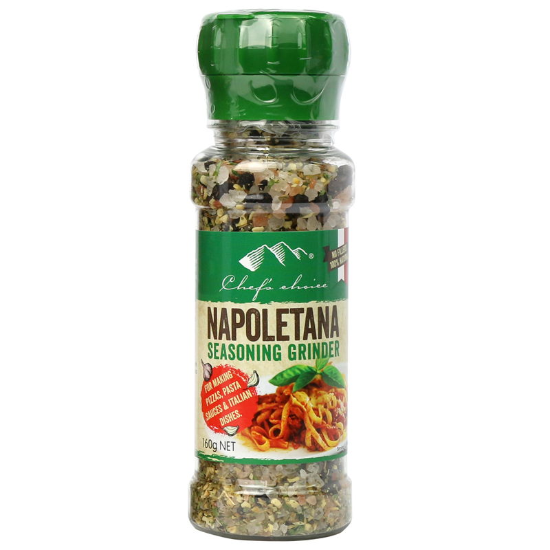 Chef's Choice Napoletana Seasoning Grinder 160g