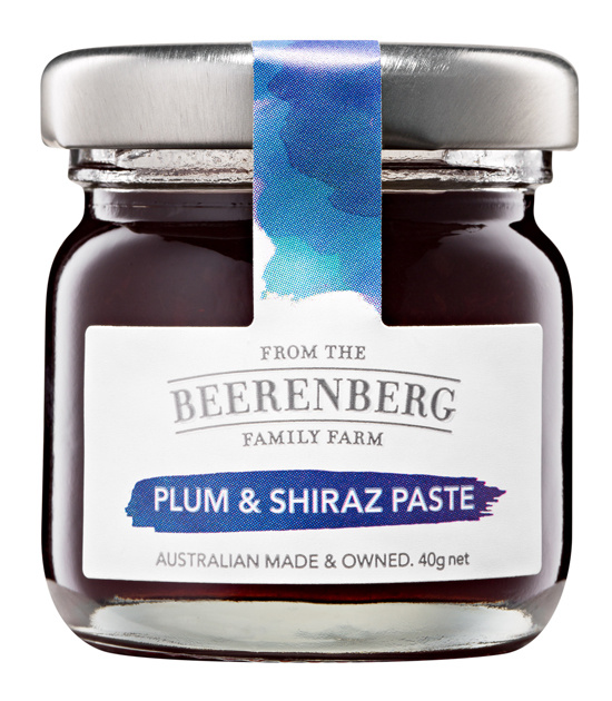 BEERENBERG Plum & Shiraz Cheeseboard Paste Pot 40g