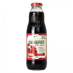 Chef's Choice Certified Organic 100% Pomegranate Juice (Filtered) 750mL