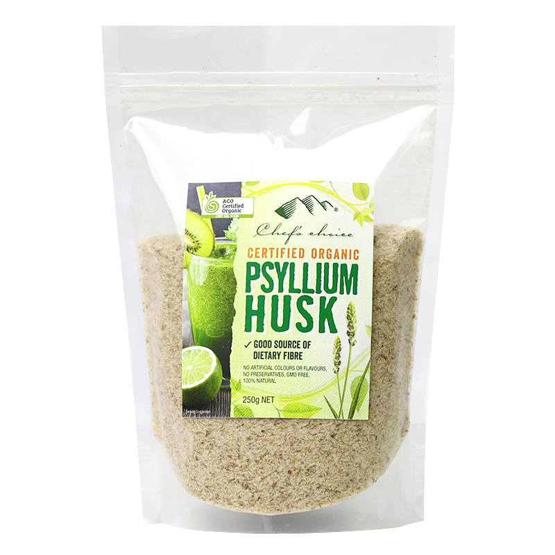 Chef's Choice Certified Organic Psyllium Husk 250g