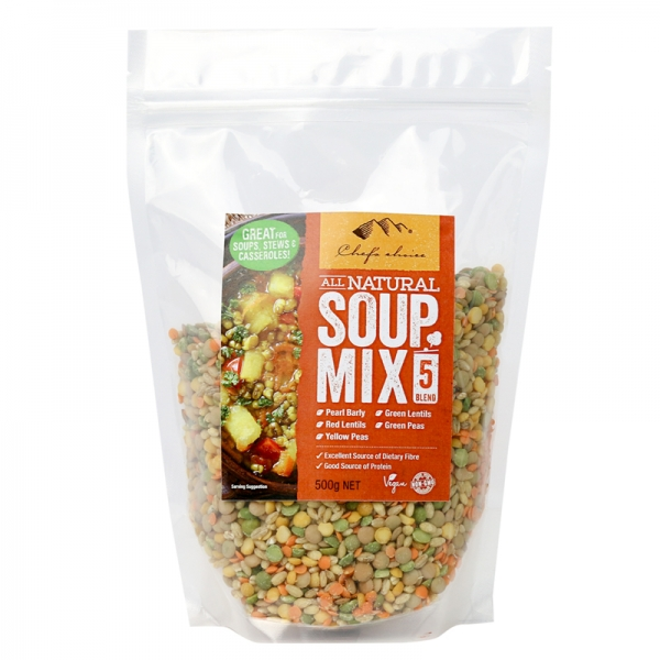 Chef's Choice All Natural Soup Mix 5 Blend 500g