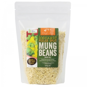 Chef's Choice Certified Organic Mung Beans 500g