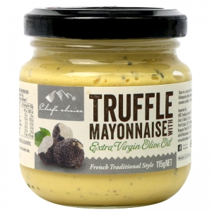 Chef's Choice Truffle Mayonnaise with Extra Virgin Olive Oil 115g